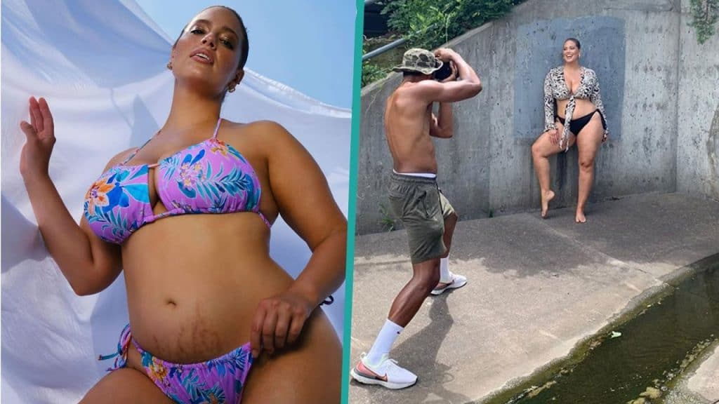 Ashley Graham Proud Of Stretch Marks In Post-Baby Bikini Bod Pics