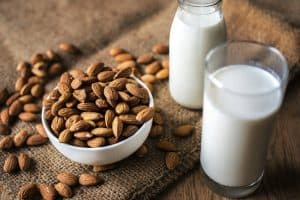 Is it healthier to have almond milk during pregnancy instead of regular milk?