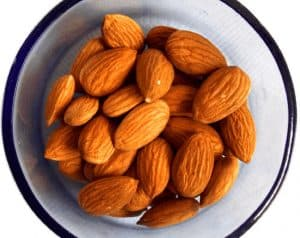 Why should I include almonds in my pregnancy diet?