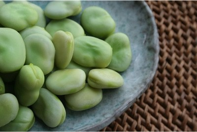 What precaution do I need to take with broad beans during my pregnancy