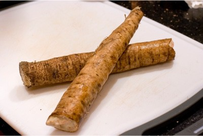 What's the problem with eating burdock root during pregnancy