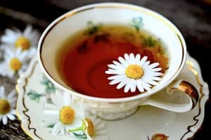 Can I drink chamomile tea during pregnancy to calm the nerves?