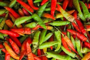 Can eating chillies cause pre-term labour?