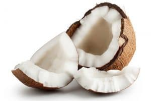 Why is coconut meat a good addition to my pregnancy diet?