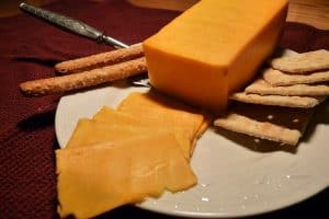 Can I continue having Colby cheese in my salads during pregnancy?
