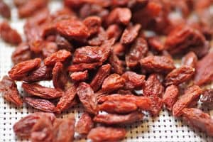 Is it okay to munch on goji berries while I am pregnant?