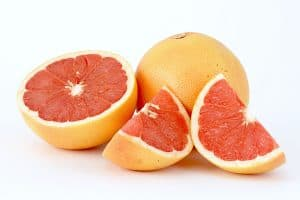 Does eating Grapefruit cause fructose levels to rise during pregnancy?