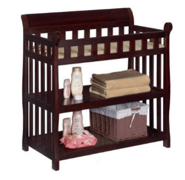Delta Children Eclipse Changing Table with Changing Pad
