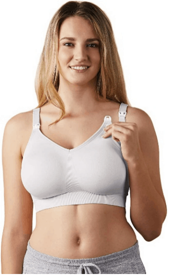 Silk Seamless Wireless Maternity & Nursing Bra