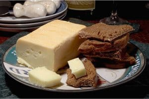 Should pregnant women have Limburger cheese at a buffet counter?