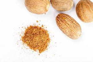 Can I eat sweet dishes that contain Nutmeg during pregnancy?