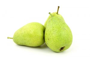 Can pears cause gastric problems?