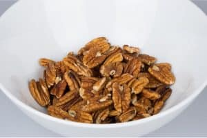 What are the nutritional benefits of having pecans during pregnancy?