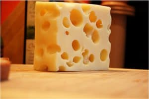 What are the benefits of eating Swiss cheese during pregnancy?